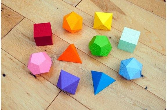 Papel : Figuras Geometricas
