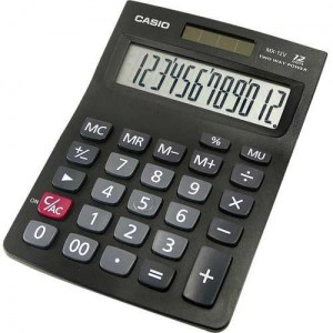 CALCUDORA-CASIO-GX-125-12-DIGITOS