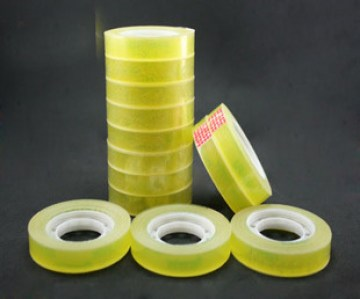 Free-shipping-hot-sell-Transparent-single-side-tape-adhesive-tape-tape-1-1cm-25-m-font