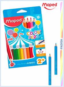 crayon maped jumbo 12